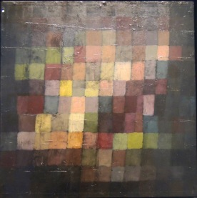 Sonorité ancienne, 1925 (huile sur carton)