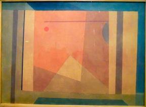 Pyramide, 1932 (aquarelle, pinceau et crayon sur toile)