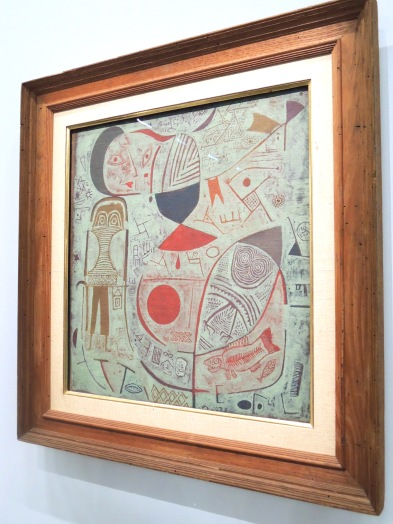 Feuilles d'image, 1937 (huile sur toile)