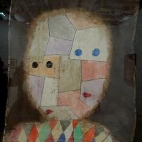 """Dénommé """"Miroir des parents"""", 1933 (aquarelle sur mouchoir sur carton)"""