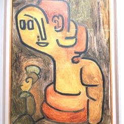 Buste de Gaïa, 1939 (huile sur coton)