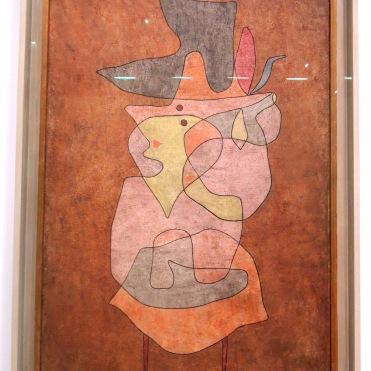 Dame Démon, 1935 (huile et aquarelle sur toile de jute)