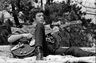 Lou Reed au Castle, Los Angeles, 1966 © Lisa Law