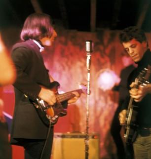 John Cale et Lou Reed au Café Bizarre, 1965 © Adam Richie
