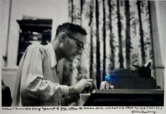 William Burroughs, octobre 1953 © Allen Ginsberg