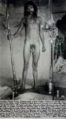 Shambra Bharti Baba, shaman, India, 1962 © Allen Ginsberg