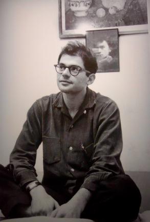 Allen Ginsberg, Beat Hotel ©Harold Chapman