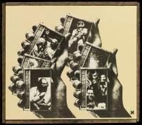 Wallace Berman, untitled (Allen Ginsberg)