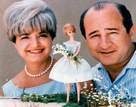 Ruth et Eliott Handler dans les années 60 (archive Mattel)