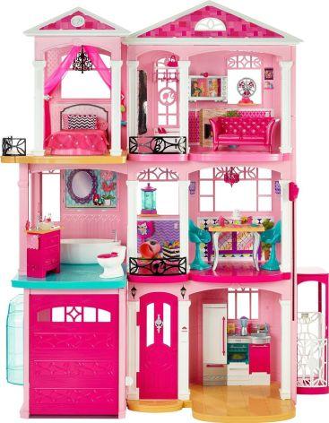 La maison de fou... qui n'était pas donnée à toutes les Barbie.