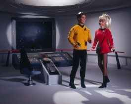 """Barbie et Ken """"Star Trek"""""""