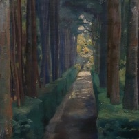 Diego Rivera, Promenade des mélancoliques, 1904