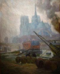 Diego Rivera, Notre-Dame de Paris, 1909