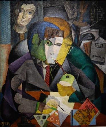 Diego Rivera. Portrait de Ramon Gomez de la Serna, 1915