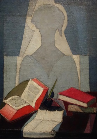 La Poétesse, 1917, Angel Zarraga