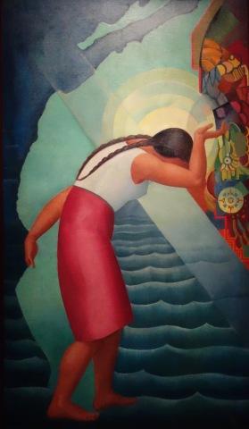 La corne d'abondance, 1927, Angel Zarraga