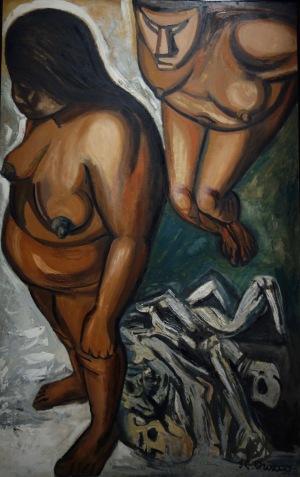 José Clemente Orozco. Indiennes, 1947