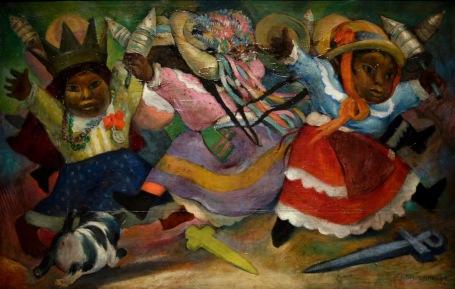Jean Charlot, La danse des malinches, 1926