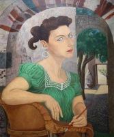 Olga Costa. Autoportrait, 1947