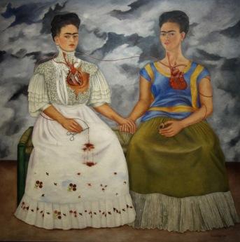 Frida Kahlo. Les deux Frida. 1939