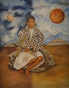 Frida Kahlo. Enfant tehucana, Lucha Maria ou Soleil et Lune, 1942