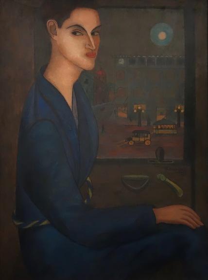 Manuel Rodriguez Lozano. Portrait de Salvador Novo, 1924