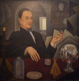 Roberto Montenegro. Portrait d'un antiquaire ou Portrait de Chucho Reyes et autoportrait, 1926