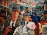 George Gershwin, un américain à Paris. Par Miguel Covarrubias, 1929