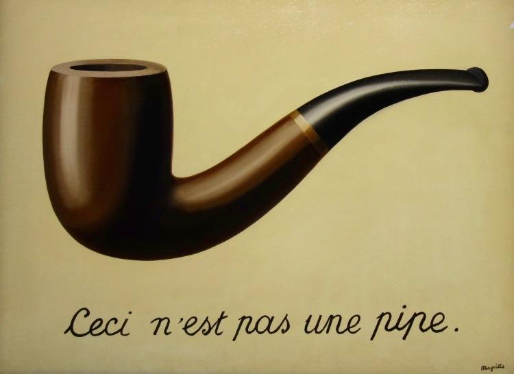 La trahison des images (Ceci n'est pas une pipe) - 1929