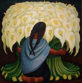 Diego Rivera, Vendeuse d'arum
