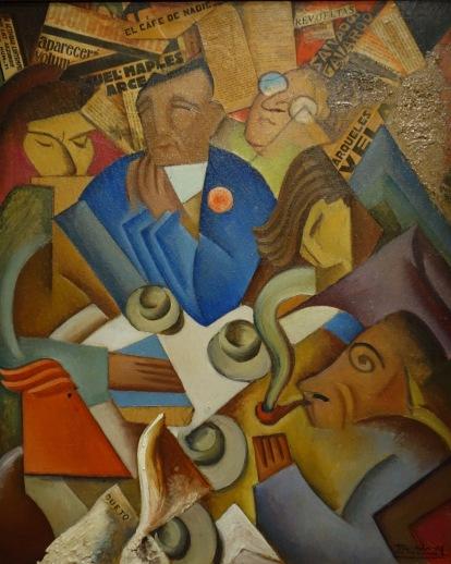 Ramon Alva de la Canal. Le café de personne, 1930