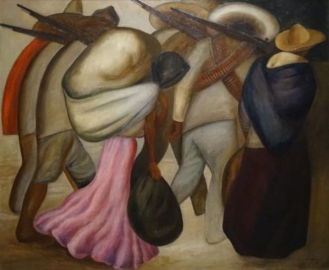 José Clemente Orozco. Les femmes des soldats, 1926