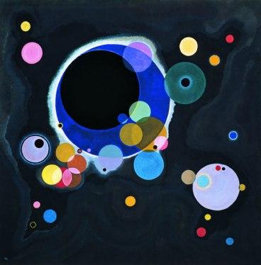 Quelques cercles, Vassily Kandinsky