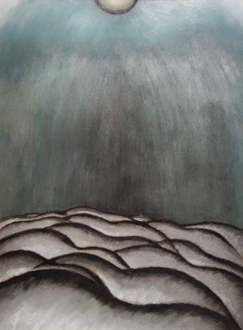 Après la tempête, argent et vert (voute céleste), Arthur Garfield Dove, 1922
