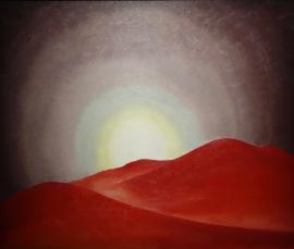 Série 1, les plaines, Georgia O'Keeffe, 1919
