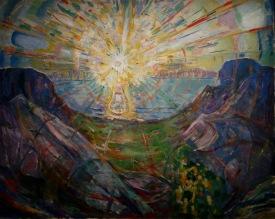 Le soleil, Munch, 1910-1913