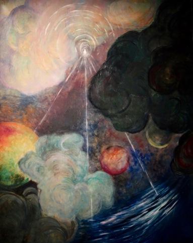 Espace et matière, Maurice Chabas, 1909