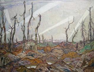 Un bosquet. Soir. A.Y.Jackson, 1918