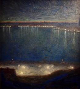 Riddarfjarden à Stockholm (rêves d'une nuit d'été), 1898