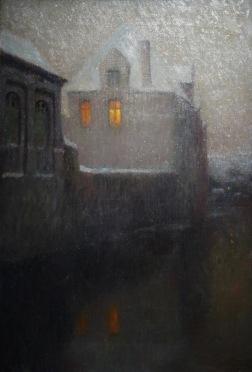 Clair de Lune, Bruges, Henri Le Sidaner, 1900