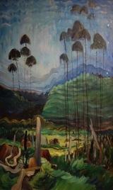 Arbres dans le ciel, Emily Carr, 1939