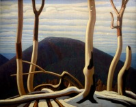 Au dessus du Lac supérieur, Lawren Stewart Harris, 1922
