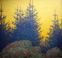 Paysage décoratif, Lawren Stewart Harris, 1917
