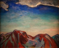 Le Nuage, la montagne rouge, Frederick Varley, 1928
