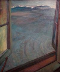 Frederick Varley, La Fenêtre ouverte, 1932