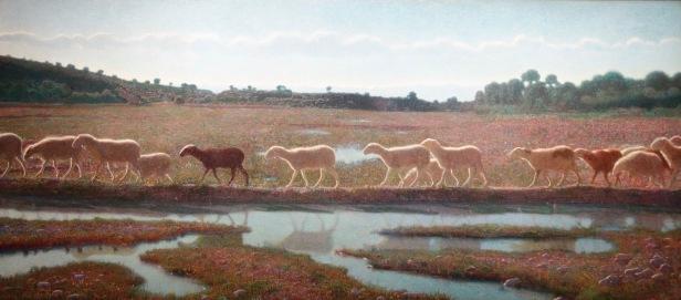 Le miroir de la vie (Et ce que fait l'une, les autres font aussi), Giuseppe Pellizza Da Volpedo, 1898