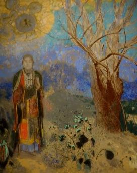 Le Bouddha, Odilon Redon, 1907
