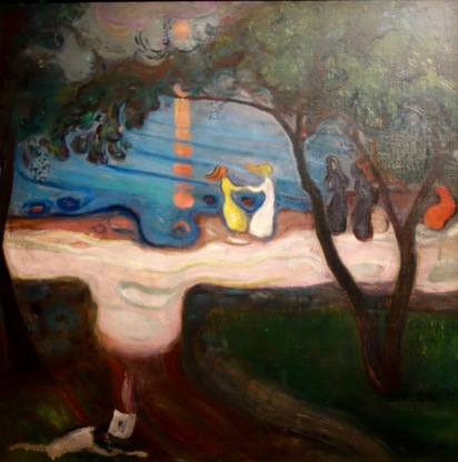 La danse sur le rivage, Edvard Munch, 1900