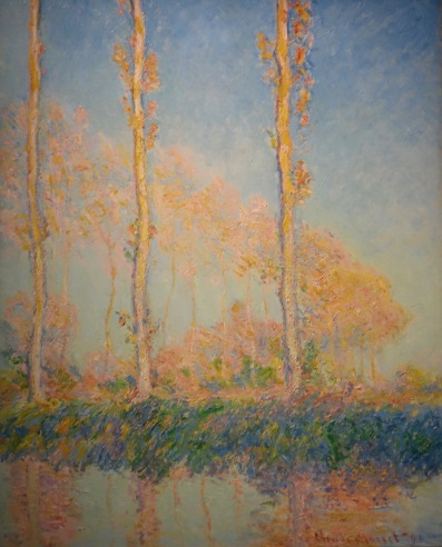 Peupliers, Claude Monet, 1891.