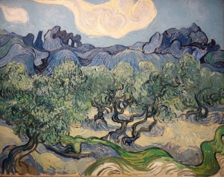 Les Oliviers, Vincent Van Gogh, 1889